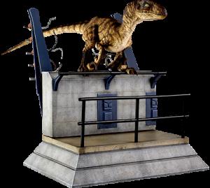 Breakout Raptor Statue
