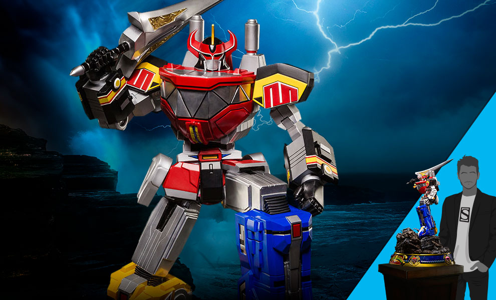 Gallery Feature Image of Megazord Statue - Click to open image gallery