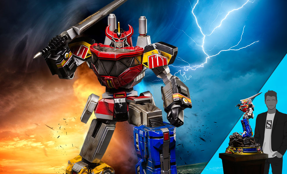 Gallery Feature Image of Megazord (Battle Damaged Version) Statue - Click to open image gallery