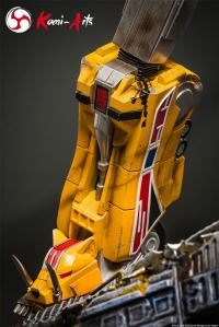 Gallery Image of Megazord (Battle Damaged Version) Statue