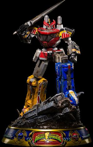 Megazord (Battle Damaged Version) Statue