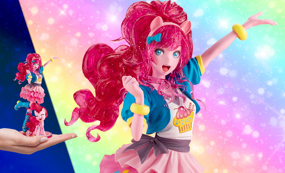 Gallery Feature Image of Pinkie Pie (Limited Edition) Statue - Click to open image gallery
