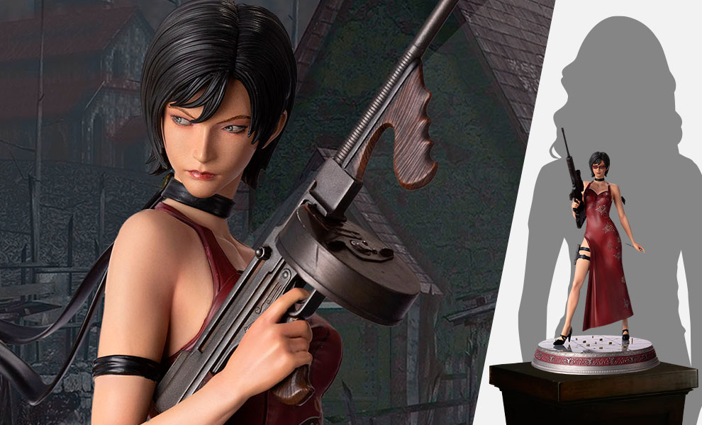 Gallery Feature Image of Ada Wong Polystone Statue - Click to open image gallery
