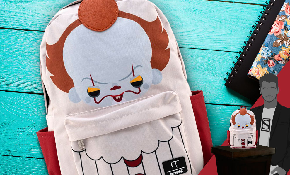 Gallery Feature Image of Pennywise Chibi Cosplay Backpack Apparel - Click to open image gallery