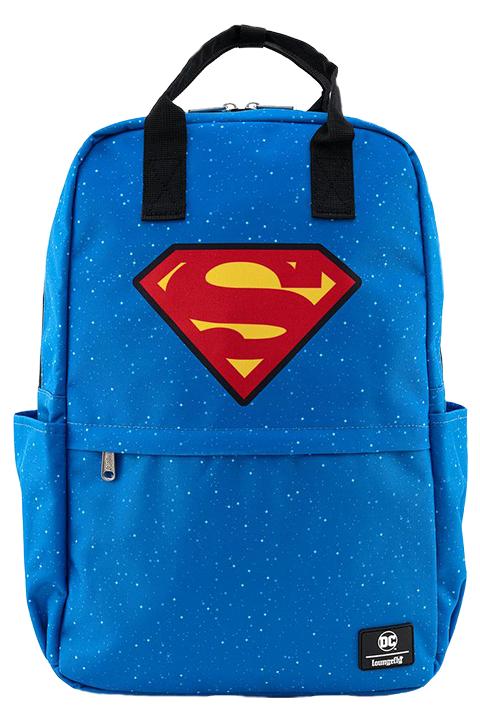Loungefly Superman Shield and Stars Backpack Apparel