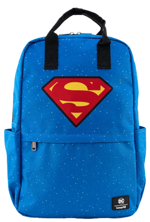 Superman Shield and Stars Backpack Apparel