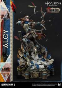 Gallery Image of Aloy Shield Weaver Armor Set Statue