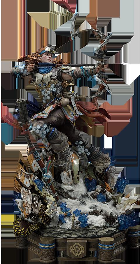 Prime 1 Studio Aloy Shield Weaver Armor Set Statue