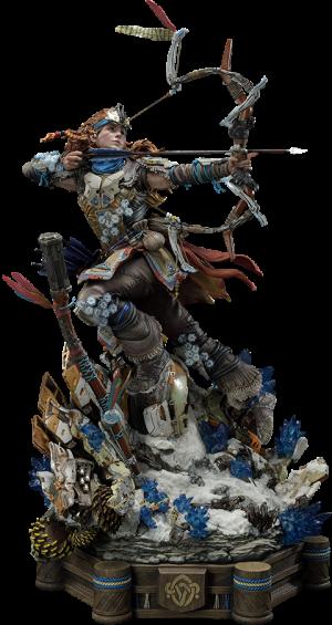 Aloy Shield Weaver Armor Set Statue