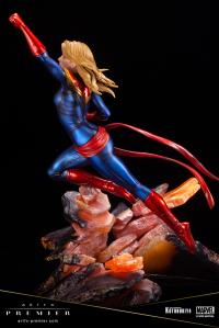 Gallery Image of Captain Marvel Statue