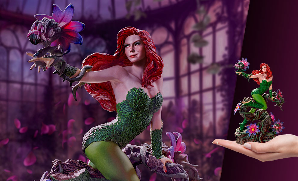 Gallery Feature Image of Poison Ivy 1:10 Scale Statue - Click to open image gallery