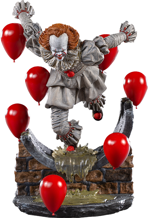 Iron Studios Pennywise Deluxe 1:10 Scale Statue