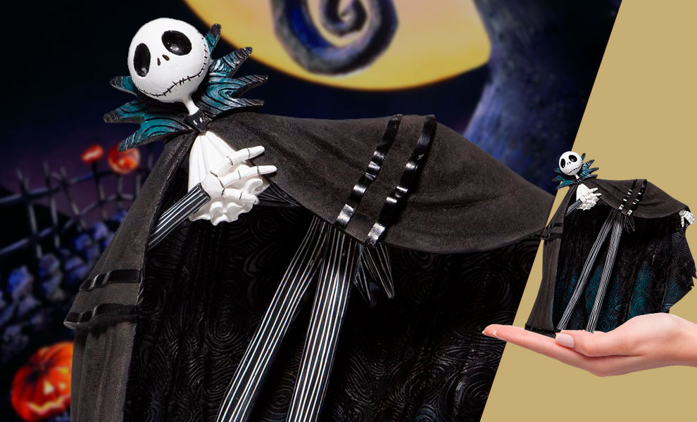 Gallery Feature Image of Jack Skellington Figurine - Click to open image gallery