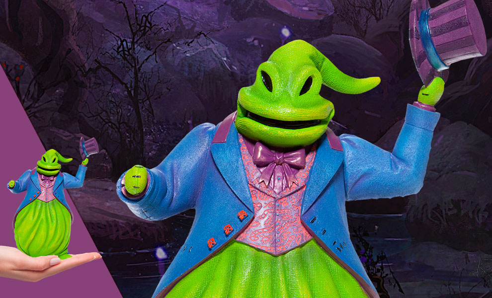 Gallery Feature Image of Oogie Boogie Couture de Force Figurine - Click to open image gallery