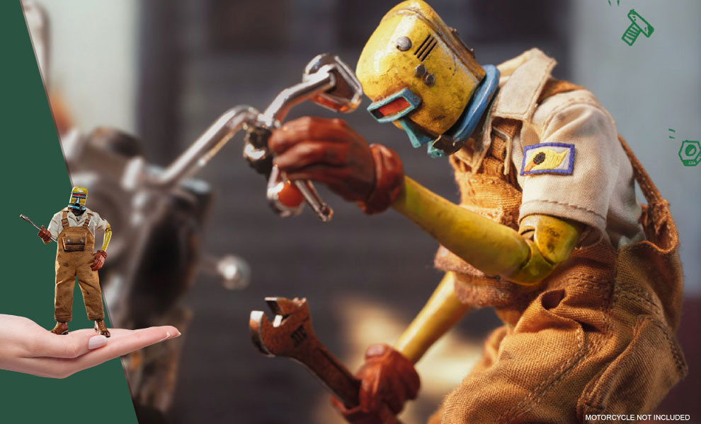 Gallery Feature Image of Old Bone Action Figure - Click to open image gallery
