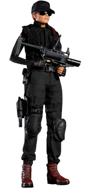 Ash Sixth Scale Figure