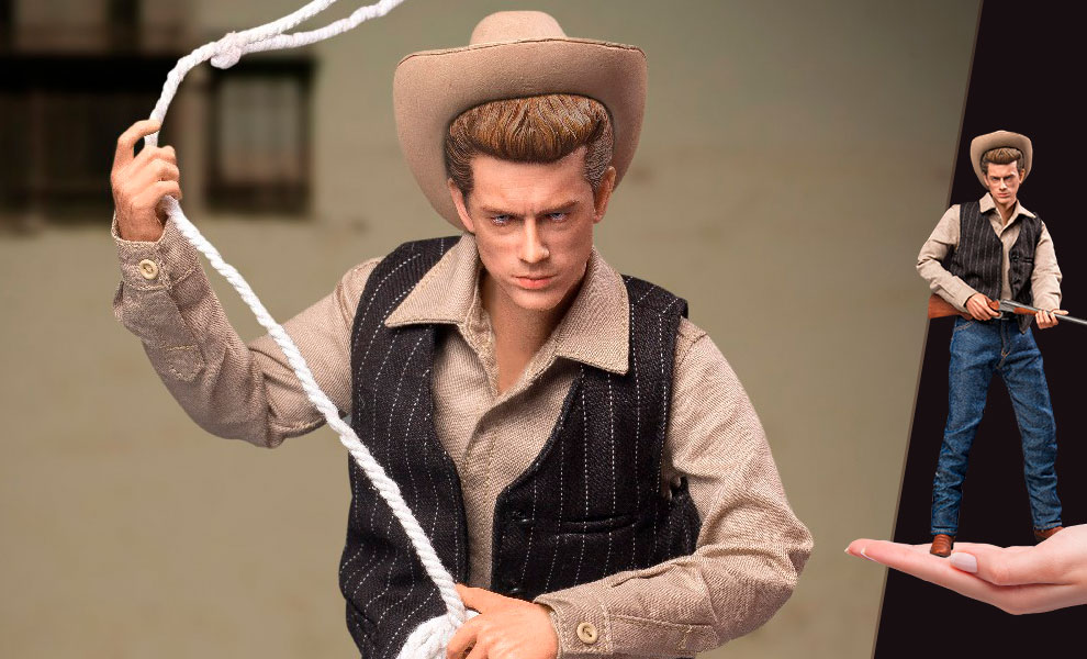 Gallery Feature Image of James Dean (Cowboy Version) Sixth Scale Figure - Click to open image gallery