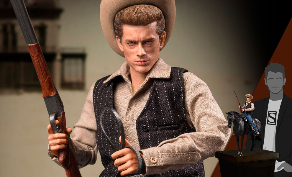 Gallery Feature Image of James Dean (Cowboy Deluxe Version) Sixth Scale Figure - Click to open image gallery