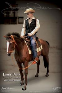 Gallery Image of James Dean Horse Sixth Scale Figure