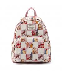 Gallery Image of Disney BFF Character Rose Checker Mini Backpack Apparel