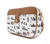 Gallery Image of Winnie the Pooh Line Drawing Crossbody Apparel