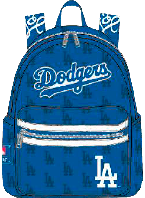Loungefly Dodgers Blue AOP Mini Backpack Apparel