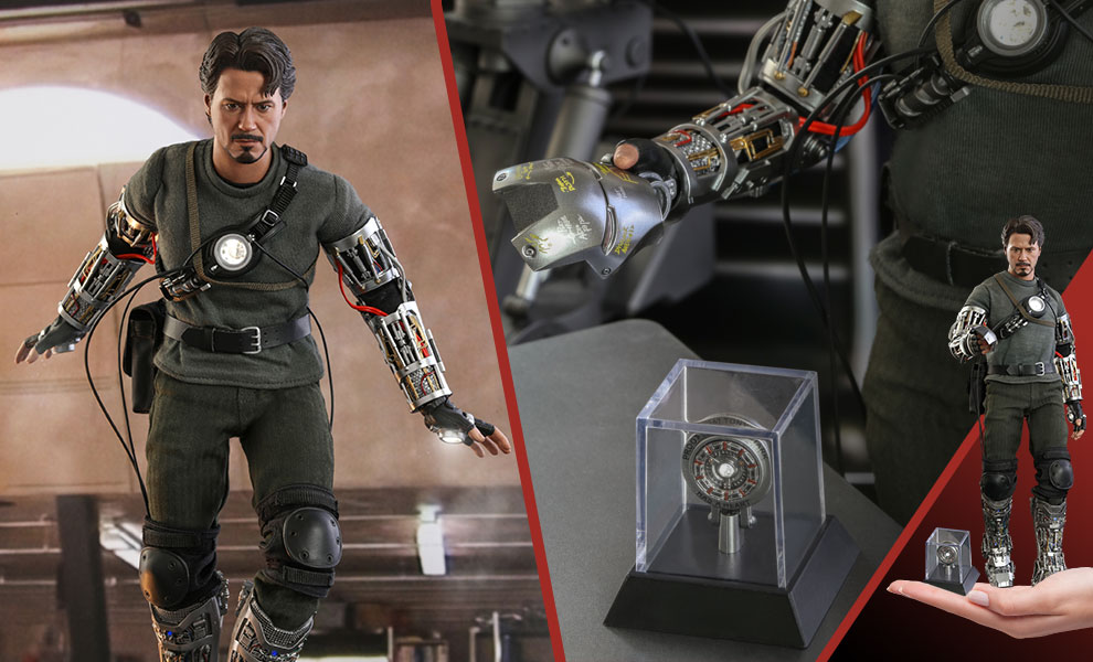 Gallery Feature Image of Tony Stark (Mech Test Version - Special Edition) Sixth Scale Figure - Click to open image gallery