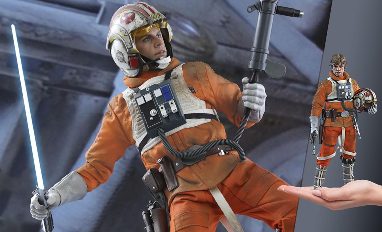 Gallery Feature Image of Luke Skywalker™  (Snowspeeder Pilot) Sixth Scale Figure - Click to open image gallery