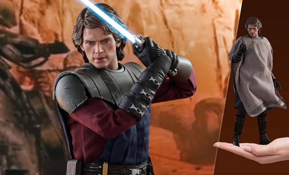 Gallery Feature Image of Anakin Skywalker Sixth Scale Figure - Click to open image gallery