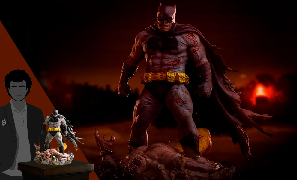 Gallery Feature Image of Batman: The Dark Knight Returns Sixth Scale Diorama - Click to open image gallery