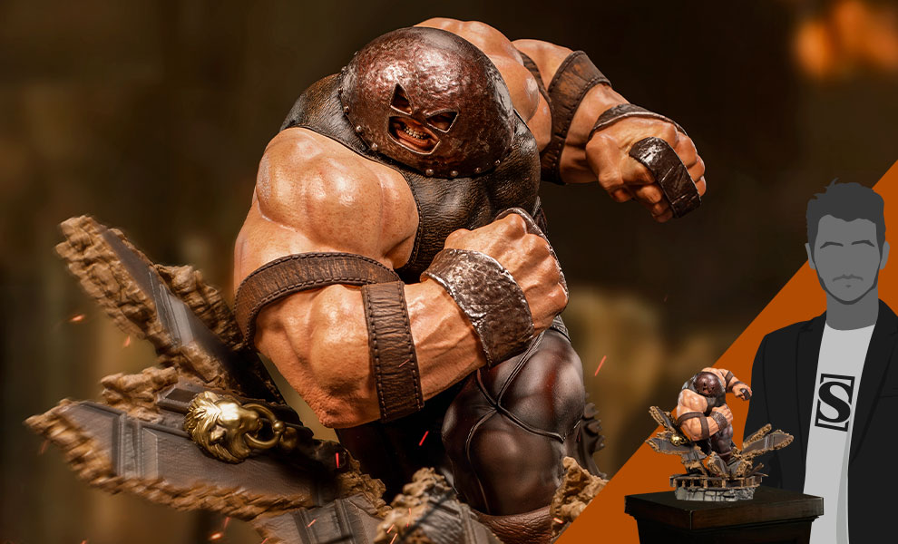 Gallery Feature Image of Juggernaut 1:10 Scale Statue - Click to open image gallery