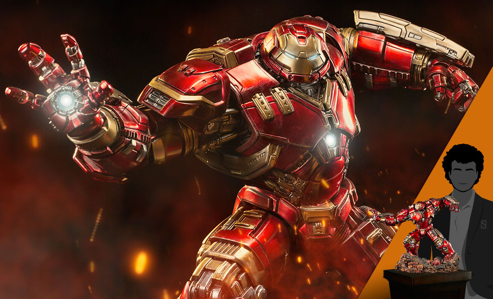 Gallery Feature Image of Hulkbuster 1:10 Scale Statue - Click to open image gallery
