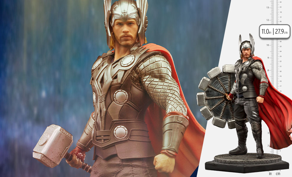Gallery Feature Image of Thor Deluxe 1:10 Scale Statue - Click to open image gallery