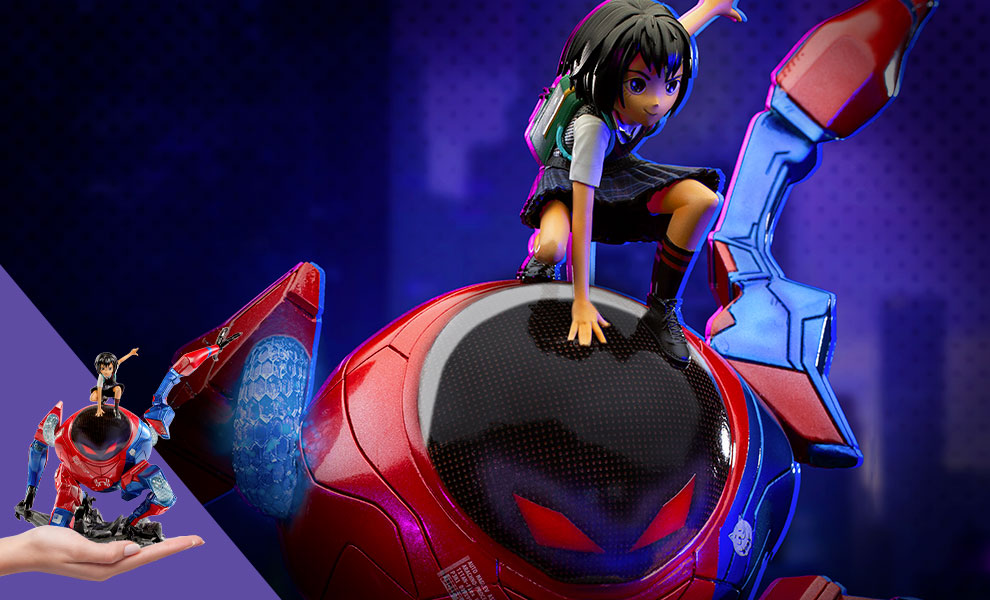 Gallery Feature Image of Peni Parker & SP//dr Deluxe 1:10 Scale Statue - Click to open image gallery