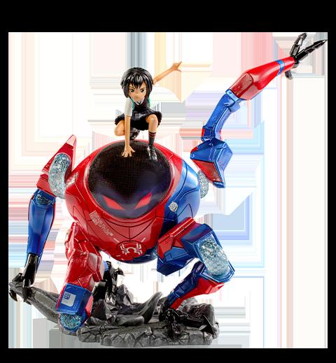 Iron Studios Peni Parker & SP//dr Deluxe 1:10 Scale Statue