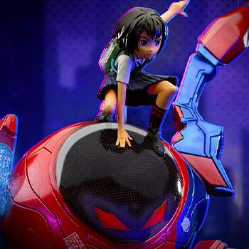 Peni Parker & SP//dr Deluxe Marvel 1:10 Scale Statue