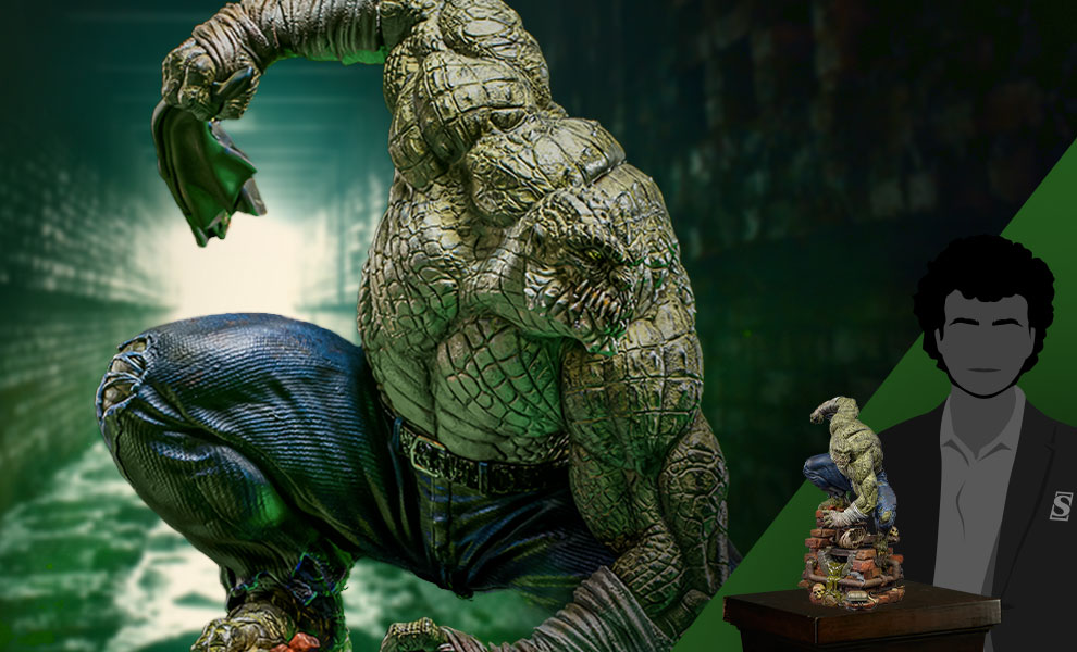 Gallery Feature Image of Killer Croc Deluxe 1:10 Scale Statue - Click to open image gallery
