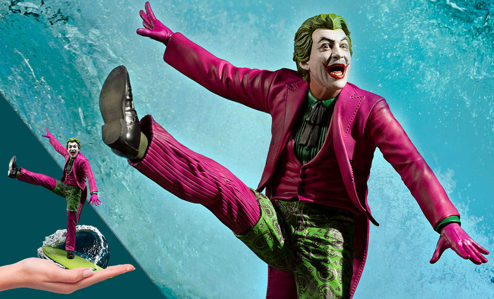 Gallery Feature Image of The Joker Deluxe 1:10 Scale Statue - Click to open image gallery