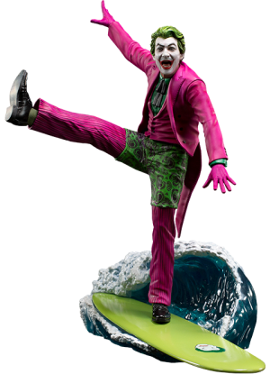 The Joker Deluxe 1:10 Scale Statue