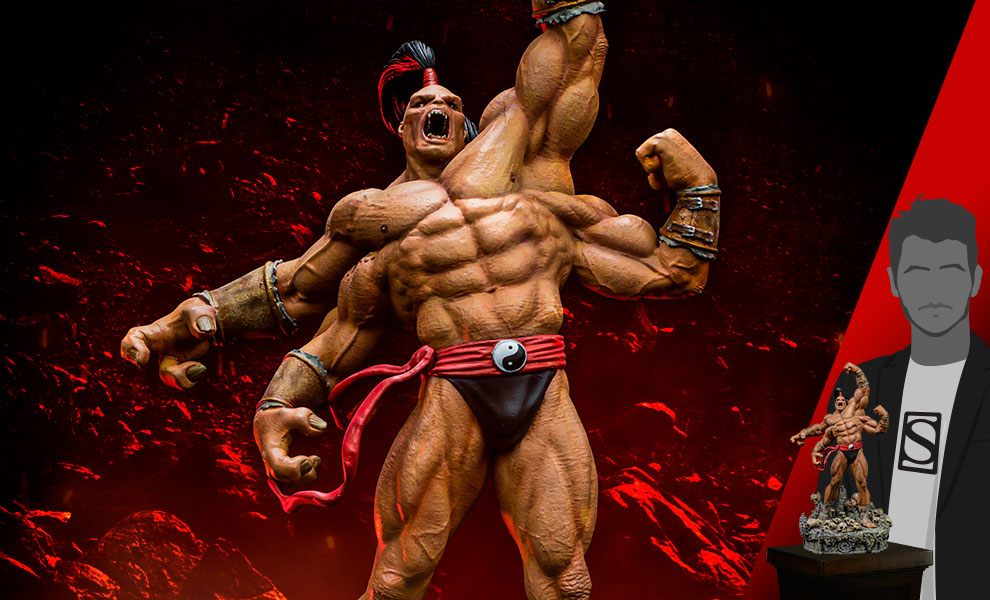 Gallery Feature Image of Goro 1:10 Scale Statue - Click to open image gallery