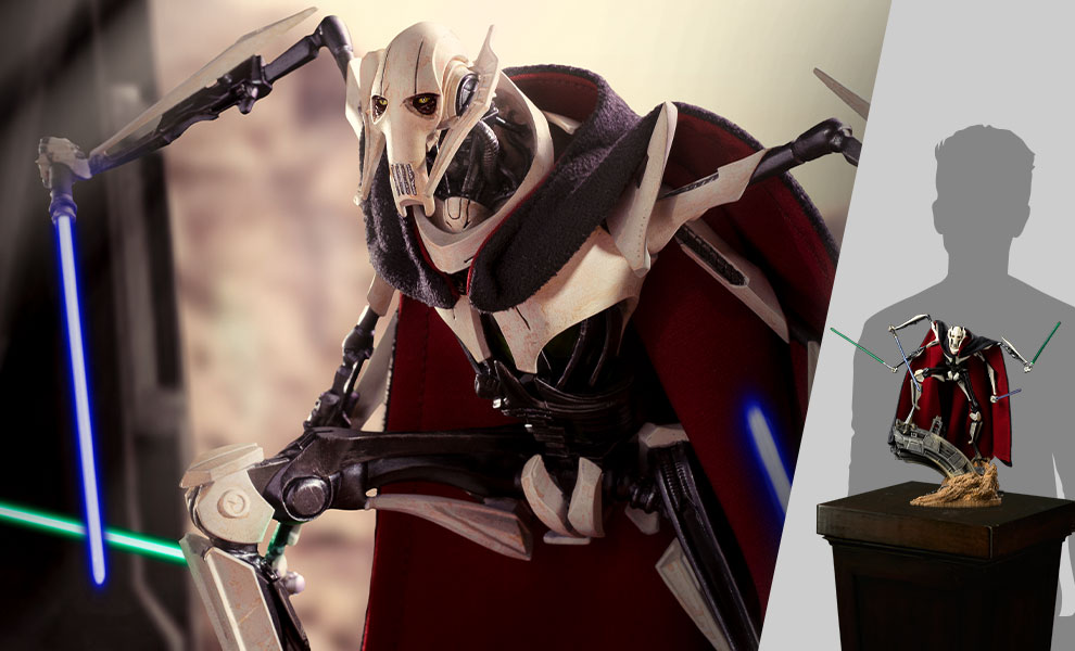 Gallery Feature Image of General Grievous Deluxe 1:10 Scale Statue - Click to open image gallery