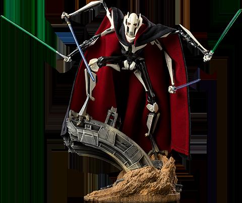 Iron Studios General Grievous Deluxe 1:10 Scale Statue