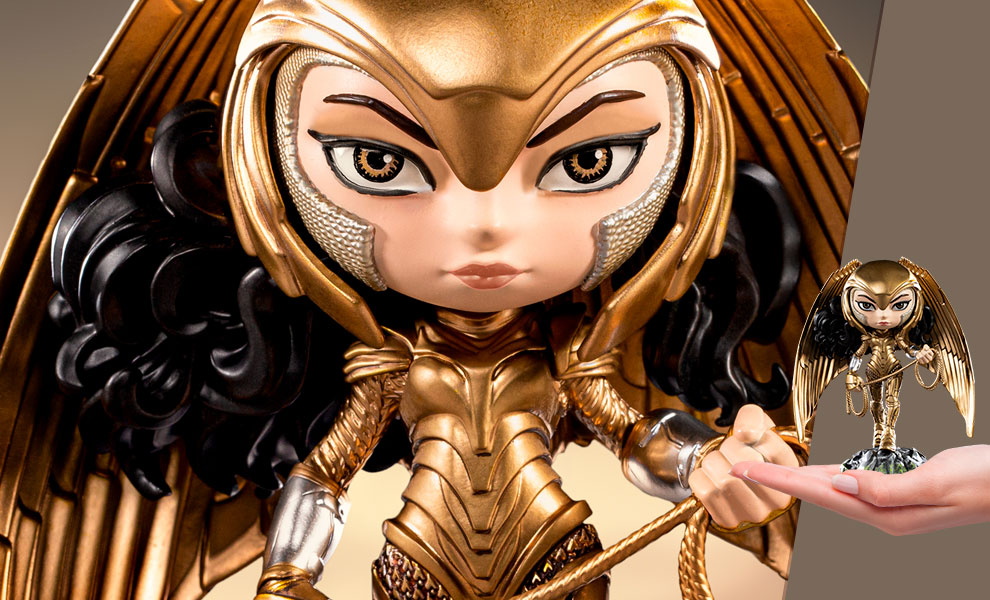 Gallery Feature Image of Wonder Woman (Armored Version) Mini Co. Collectible Figure - Click to open image gallery