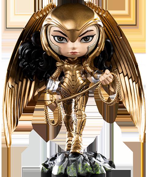Iron Studios Wonder Woman (Armored Version) Mini Co. Collectible Figure