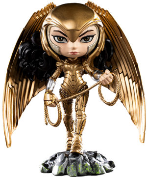 Wonder Woman (Armored Version) Mini Co. Collectible Figure
