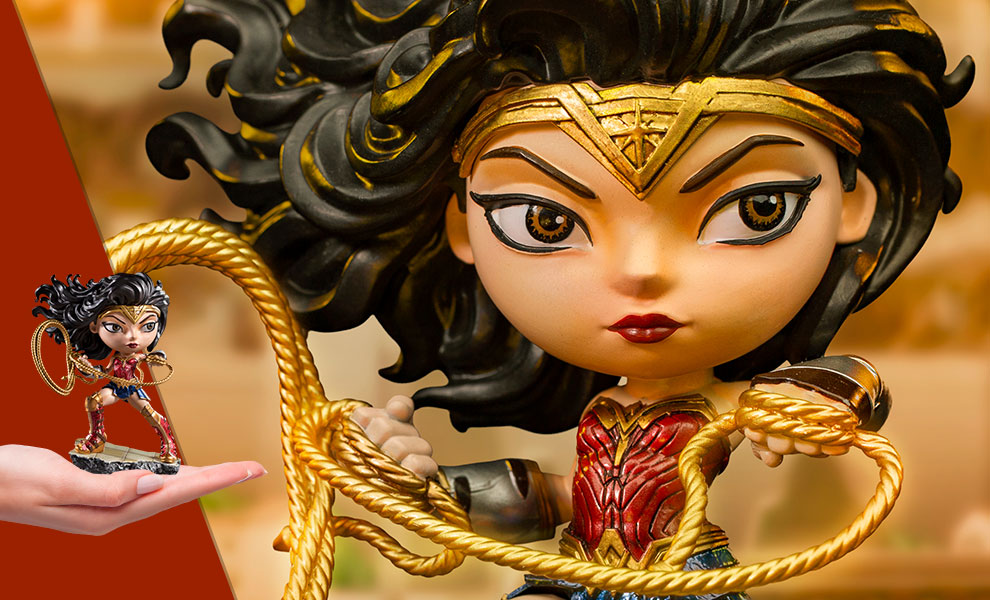 Gallery Feature Image of Wonder Woman 1984 Mini Co. Collectible Figure - Click to open image gallery