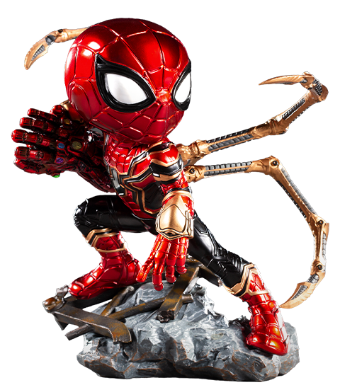 Iron Studios Iron Spider Mini Co. Collectible Figure