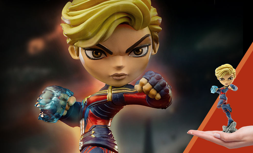 Gallery Feature Image of Captain Marvel Mini Co. Collectible Figure - Click to open image gallery
