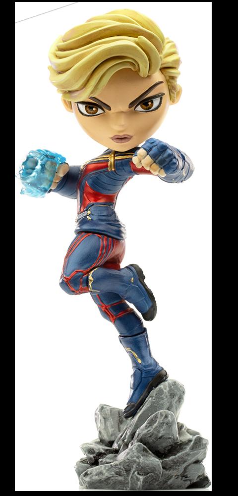 Iron Studios Captain Marvel Mini Co. Collectible Figure