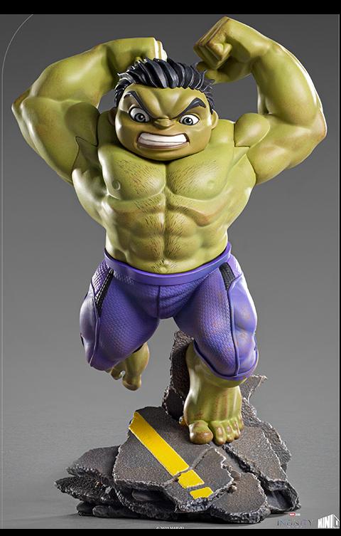 Iron Studios Hulk Mini Co. Collectible Figure